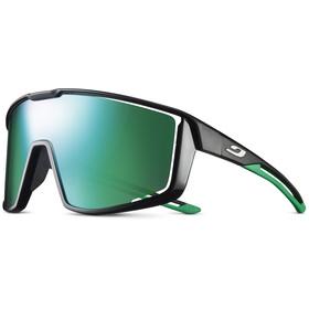Julbo Fury Spectron 3 Sunglasses, black/glossy black/green